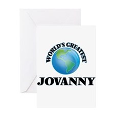 World's Greatest Jovanny Greeting Cards