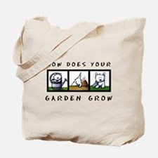Garden Westies Tote Bag