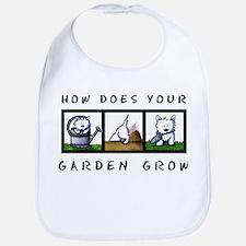 Garden Westies Bib