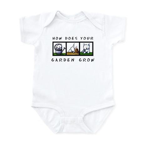 Garden Westies Infant Bodysuit