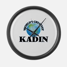 World's Greatest Kadin Large Wall Clock