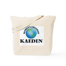 World's Greatest Kaeden Tote Bag