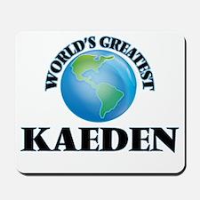 World's Greatest Kaeden Mousepad
