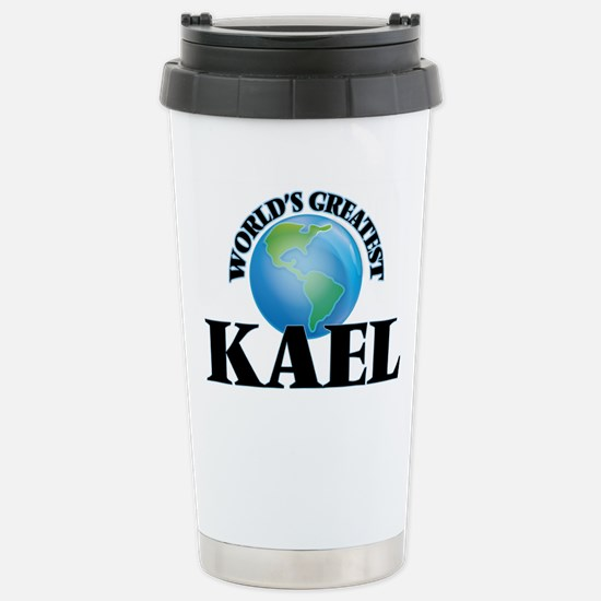 World's Greatest Kael Stainless Steel Travel Mug