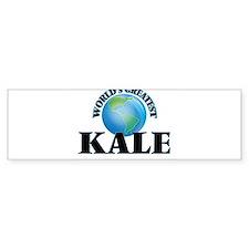 World's Greatest Kale Bumper Bumper Sticker