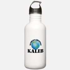 World's Greatest Kaleb Water Bottle