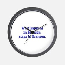 What Happens in Branson Stays Wall Clock