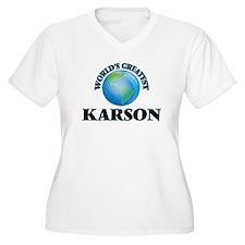 World's Greatest Karson Plus Size T-Shirt