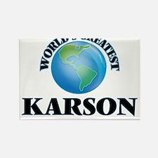 World's Greatest Karson Magnets