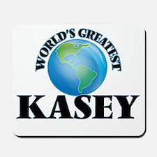 World's Greatest Kasey Mousepad