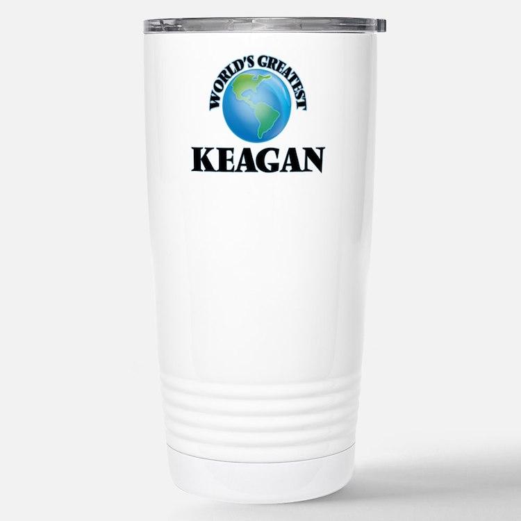 World's Greatest Keagan Stainless Steel Travel Mug