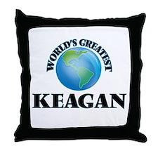 World's Greatest Keagan Throw Pillow