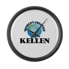 World's Greatest Kellen Large Wall Clock