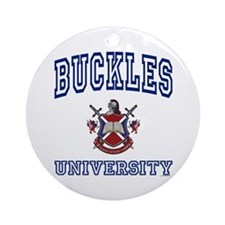 BUCKLES University Ornament (Round)