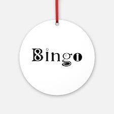 The Bingo Road Ornament (Round)