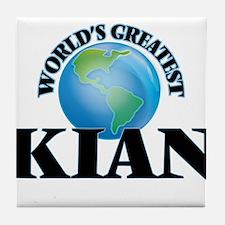 World's Greatest Kian Tile Coaster
