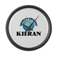 World's Greatest Kieran Large Wall Clock