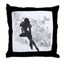 French Art Deco Throw Pillow