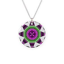 Native Purple Star Necklace