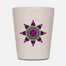 Native Purple Star Shot Glass