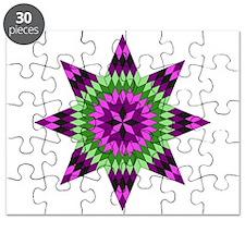 Native Purple Star Puzzle