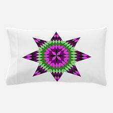 Native Purple Star Pillow Case