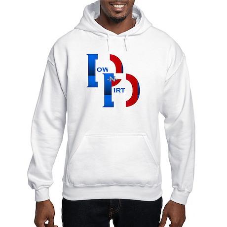 Patriotic French DND Logo Hooded Sweatshirt