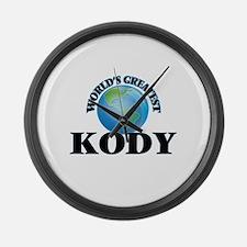 World's Greatest Kody Large Wall Clock