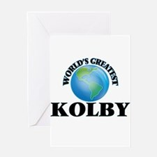 World's Greatest Kolby Greeting Cards