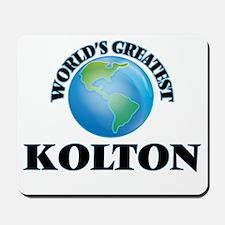 World's Greatest Kolton Mousepad