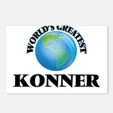 World's Greatest Konner Postcards (Package of 8)