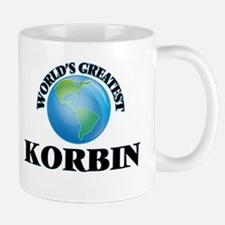 World's Greatest Korbin Mugs