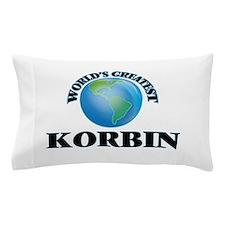 World's Greatest Korbin Pillow Case