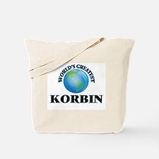 World's Greatest Korbin Tote Bag