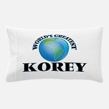 World's Greatest Korey Pillow Case