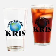 World's Greatest Kris Drinking Glass