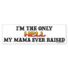 I'm the only Hell Bumper Bumper Sticker