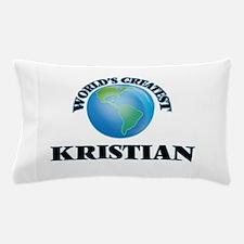 World's Greatest Kristian Pillow Case