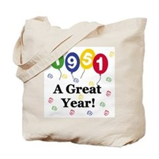1951 A Great Year Tote Bag