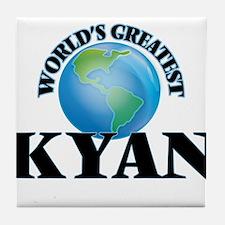 World's Greatest Kyan Tile Coaster