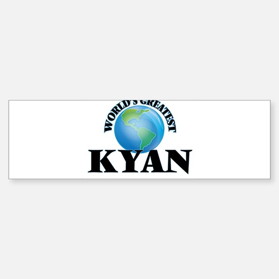 World's Greatest Kyan Bumper Bumper Bumper Sticker