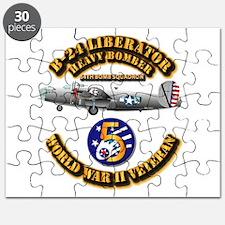 Aac - 43rd Bg - 64th Bs - 5th Air Force Puzzle