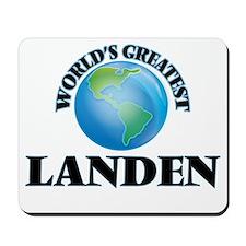 World's Greatest Landen Mousepad