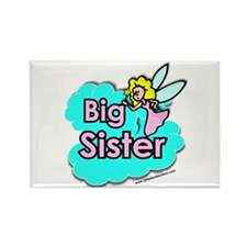 fairy big sister Rectangle Magnet