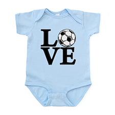 Soccer LOVE Infant Bodysuit