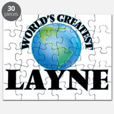 World's Greatest Layne Puzzle