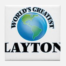 World's Greatest Layton Tile Coaster