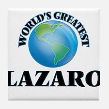 World's Greatest Lazaro Tile Coaster