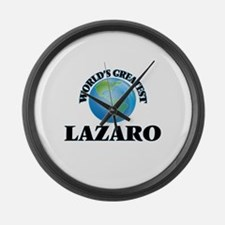 World's Greatest Lazaro Large Wall Clock