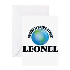 World's Greatest Leonel Greeting Cards